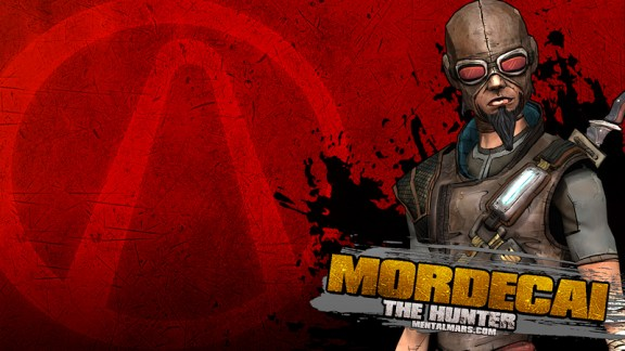 Borderlands Splatter Wallpaper - Mordecai