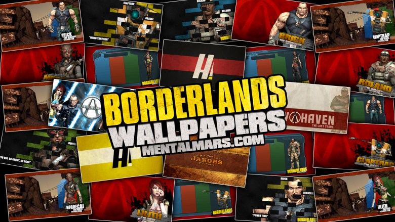 Borderlands Wallpaper Collection by MentalMars