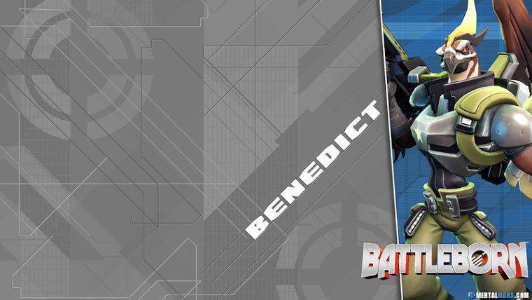Battleborn Blade Wallpaper - Benedict