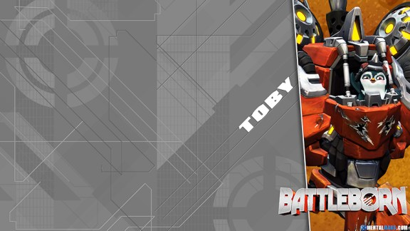Battleborn Blade Wallpaper - Toby