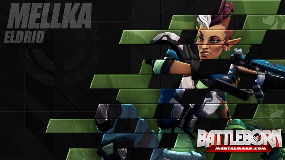 Battleborn Champion Wallpaper - Mellka