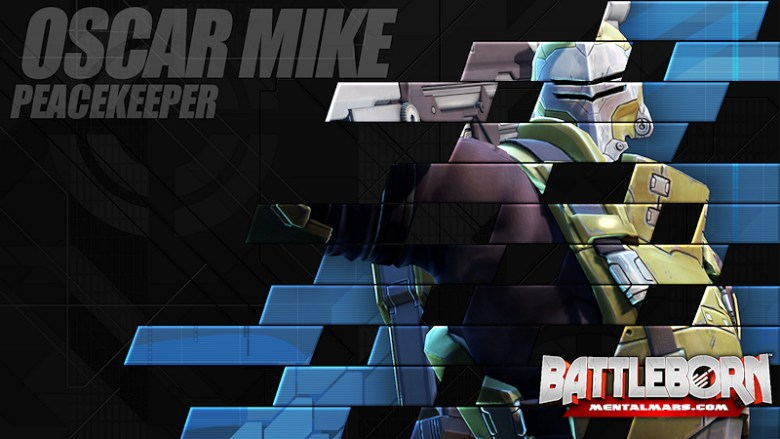 Battleborn Champion Wallpaper - Oscar Mike