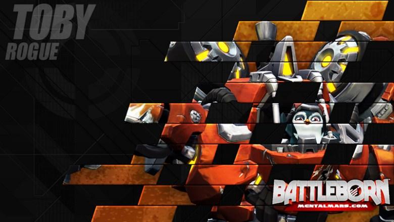 Battleborn Champion Wallpaper - Toby