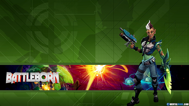 Battleborn Hero Wallpaper - Mellka