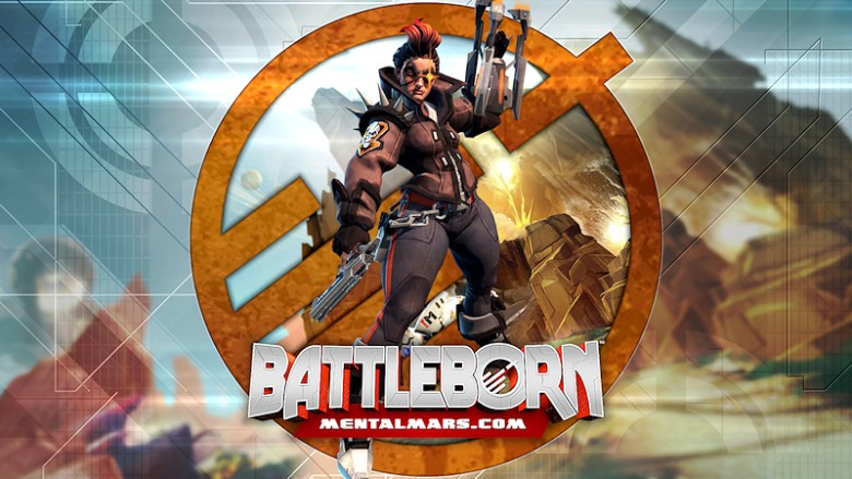 Battleborn Legends Wallpaper - Reyna