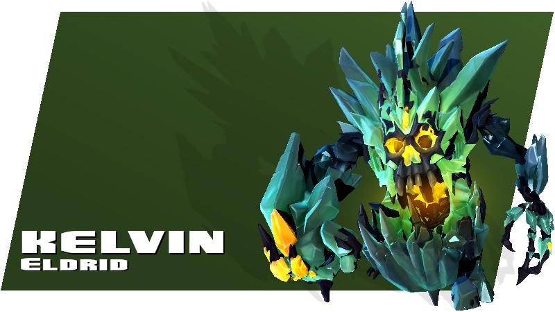 Battleborn - Kelvin - Eldrid Hero