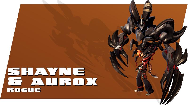 Battleborn - Shayne - Rogue Hero