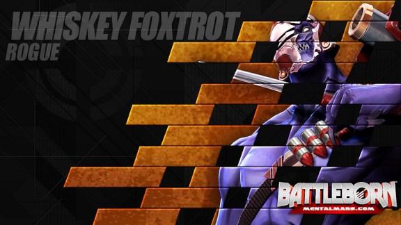Battleborn Champion Wallpaper - Whiskey Foxtrot