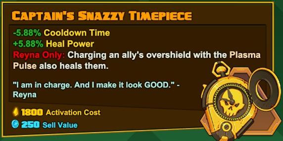 Reyna - Captain's Snazzy Timepiece