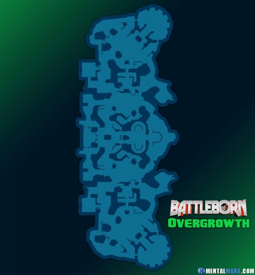 Battleborn Overgrowth Large Map