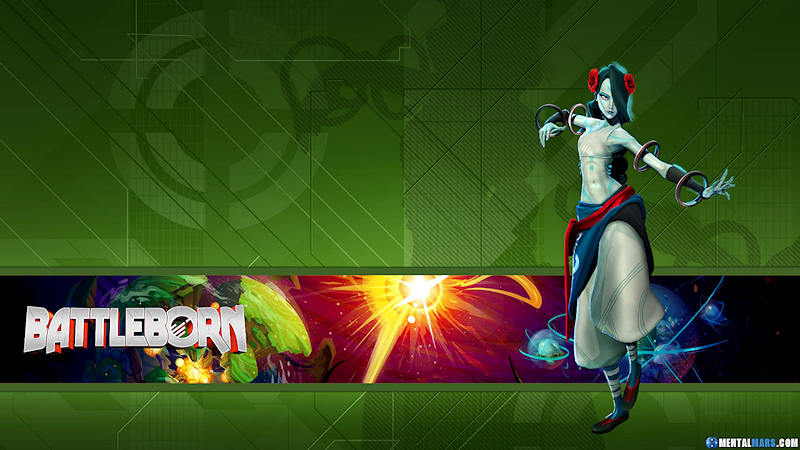 Battleborn Hero Wallpaper - Alani