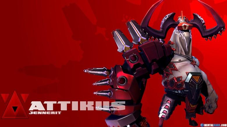Battleborn Cool Wallpaper - Attikus