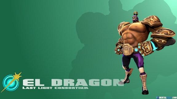 Battleborn Cool Wallpaper - El Dragon