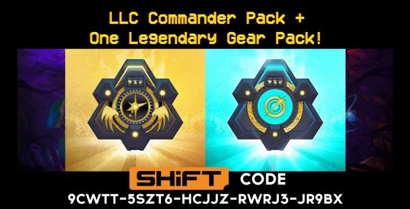 legandary and llc loot packs - Battleborn SHIFT CODE