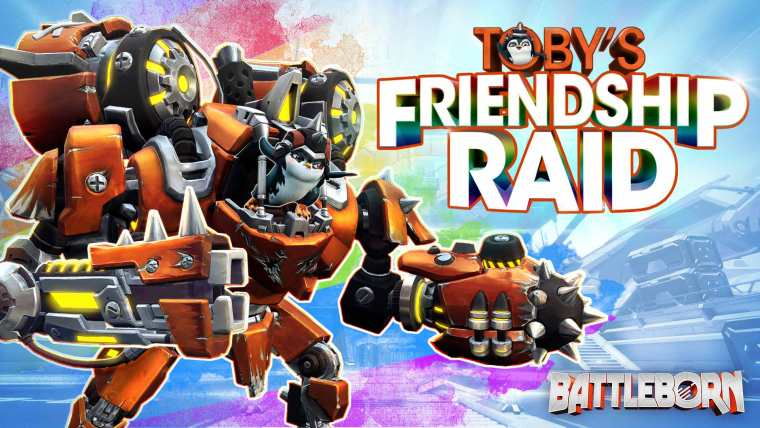 Toby's Friendship Raid - Battleborn Story Operation