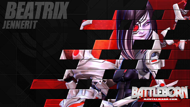 Battleborn Champion Wallpaper - Beatrix