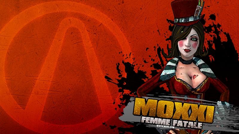 Moxxi Splatter Wallpaper - Borderlands 2