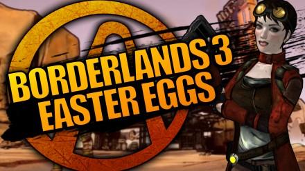 Borderlands 3 Easter Eggs
