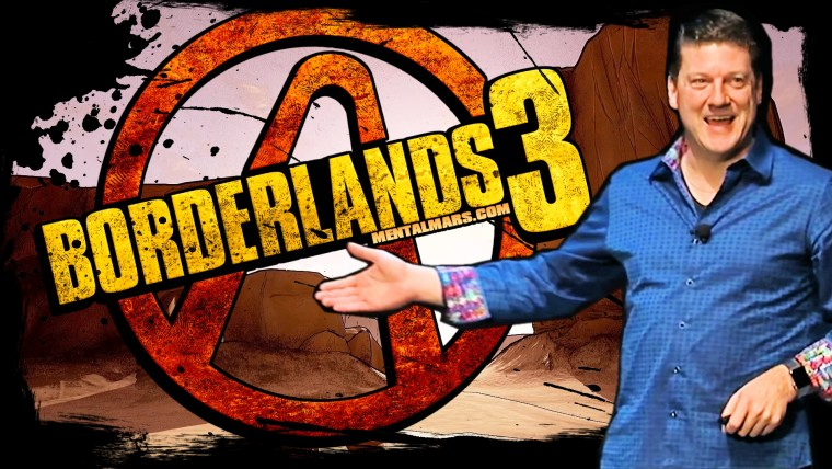 Randy Pitchford Reveals Borderlands 3 With Badass Tech Demo