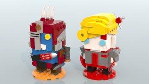 Deande - Whiskey Foxtrot - Battleborn Lego