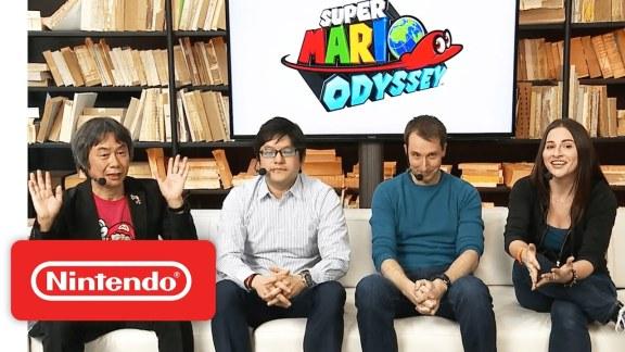 Super Mario Odyssey – Nintendo Treehouse