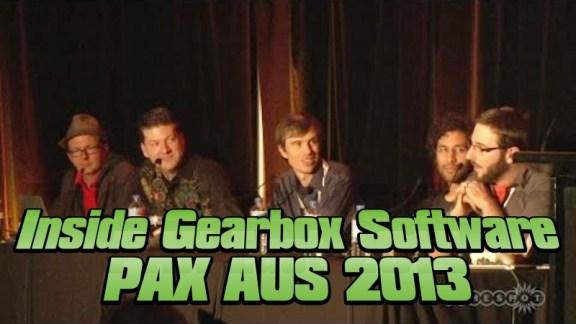 Inside Gearbox Panel - PAX AUS 2013