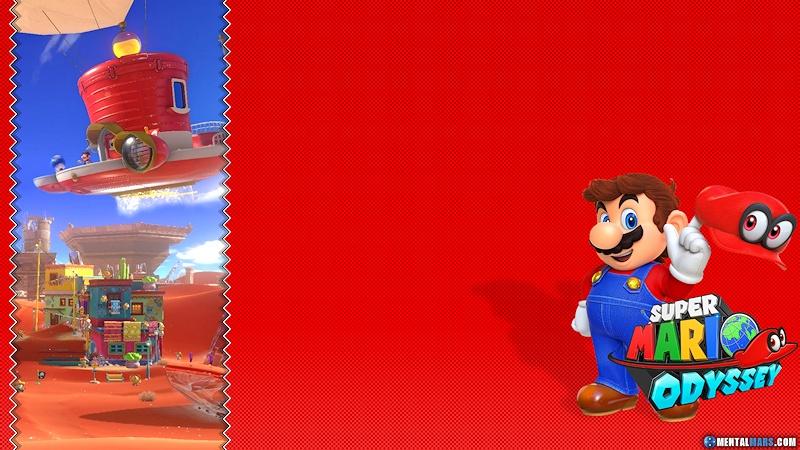 Super Mario Odyssey Wallpaper Mentalmars