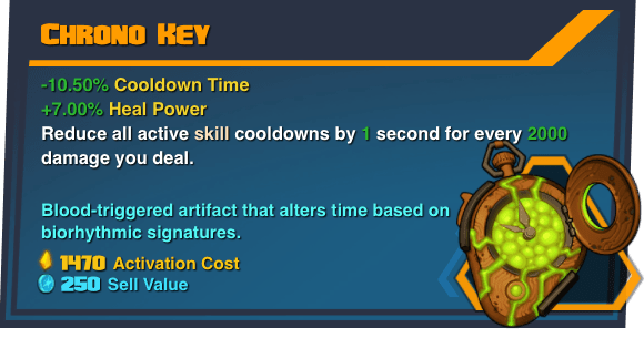 Chrono Key - Battleborn Legendary Gear