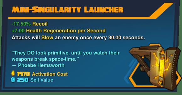 Mini-Singularity Launcher - Battleborn Legendary Gear