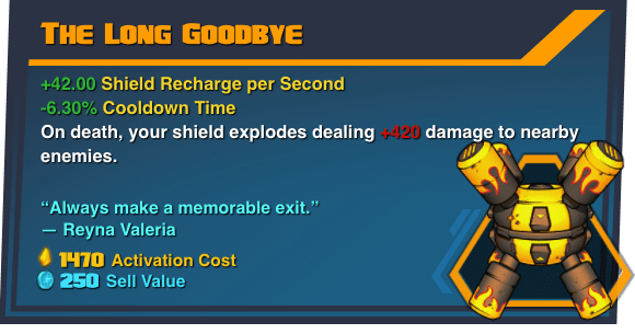 The Long Goodbye - Battleborn Legendary Gear