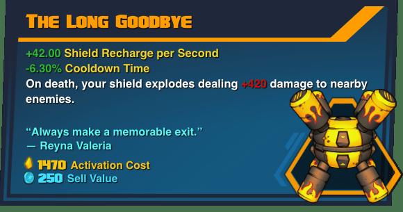 The Long Goodbye - Battleborn Legendary Gear