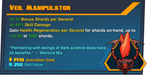 Veil Manipulator - Battleborn Legendary Gear
