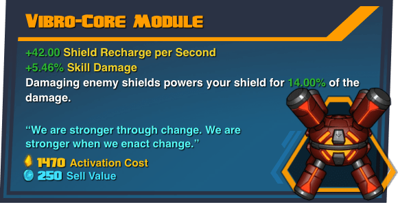 Vibro-Core Module - Battleborn Legendary Gear