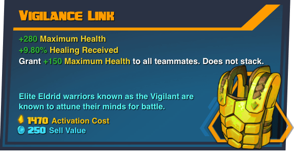 Vigilance Link - Battleborn Legendary Gear