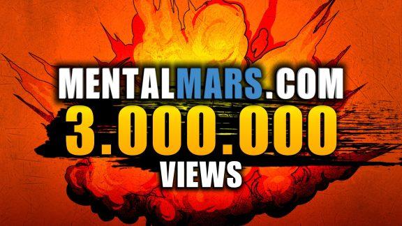 Mentalmars 3M Views