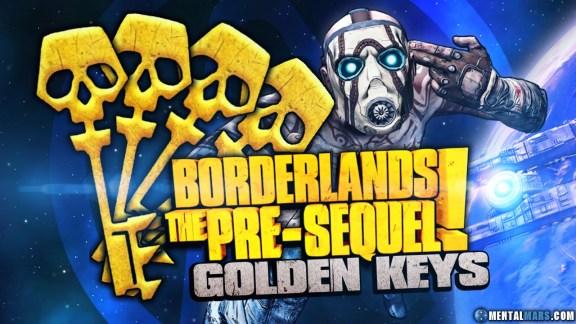 Borderlands the Pre-Sequel SHiFT Codes for Golden Keys