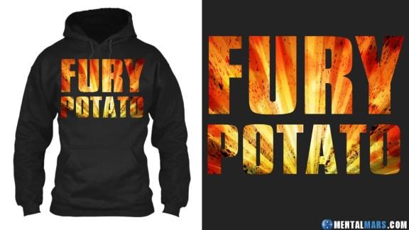 Fury Potato Hoodie