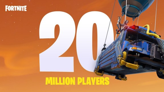 20 million fortnite players