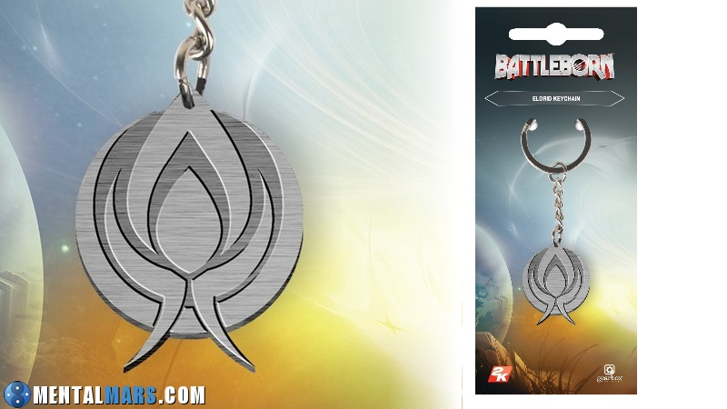 Battleborn Keychain Eldrid Preview