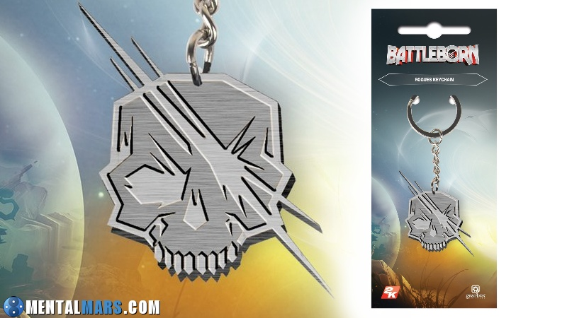 Battleborn Keychain Rogue Preview