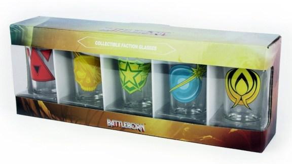 Battleborn Shotglass 5-Pack