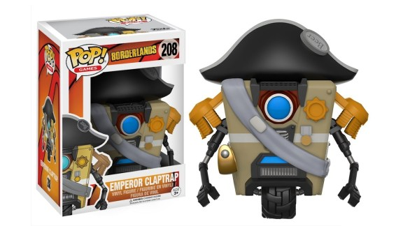 Borderlands Emperor Claptrap Funko POP Games Action Figure