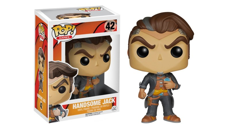 Borderlands Handsome Jack Funko POP Games Action Figure