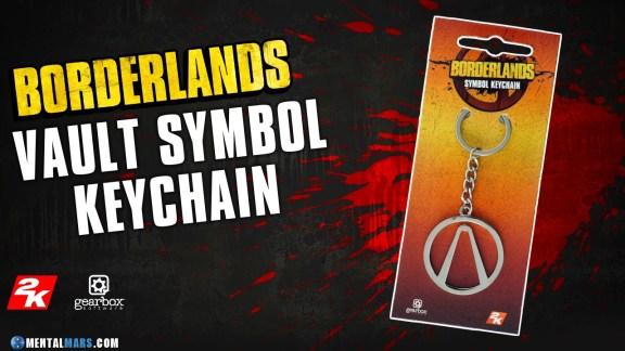 Borderlands - Logo Keychain