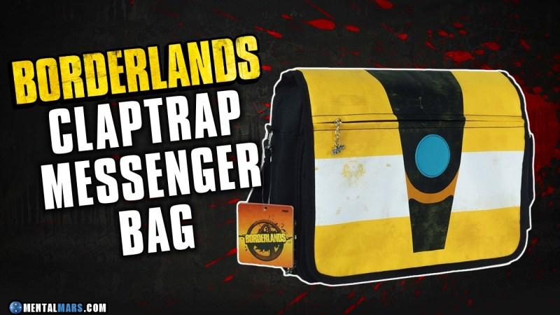 Claptrap Messenger Bag - Borderlands