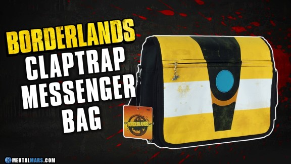 Claptrap Messenger Bag - Borderlands