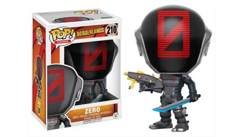 Funko POP Games Borderlands Zero Action Figure