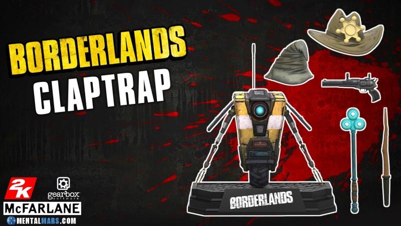 McFarlane Toys Borderlands Claptrap Action Figure