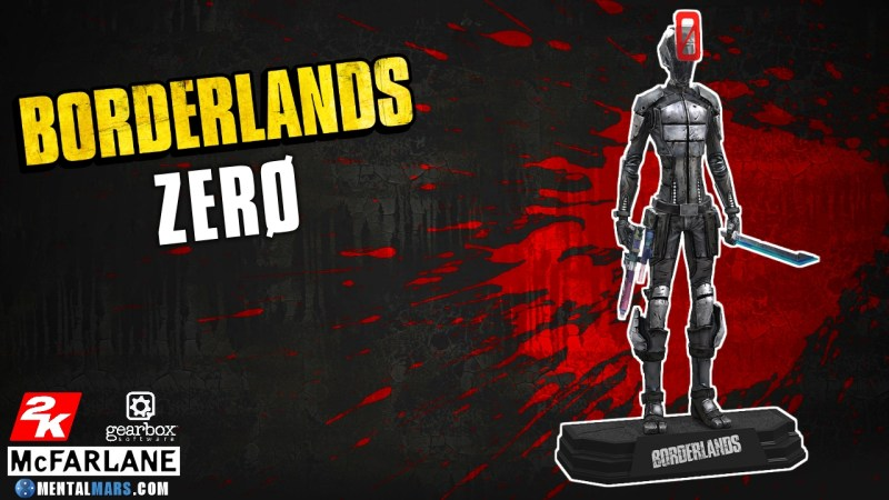 McFarlane Toys Borderlands Zero Action Figure