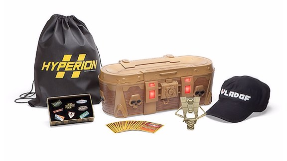 Borderlands Level 50 Swag-Filled Limited Edition Golden Loot Chest